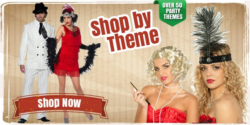 Shop for fancy dress costumes by theme