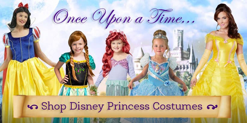 Shop Disney Princess Fancy Dress Costumes