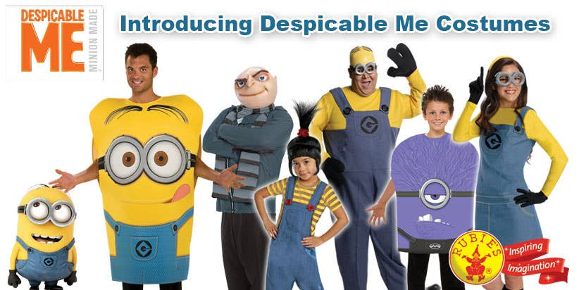 Shop Minion Fancy Dress Costumes