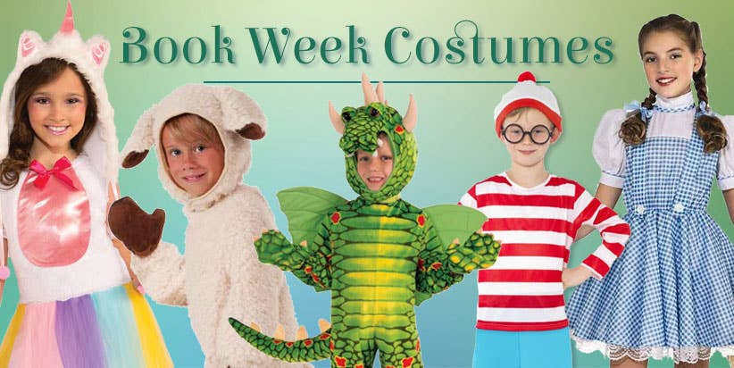 Shop Kids Book Week Costumes