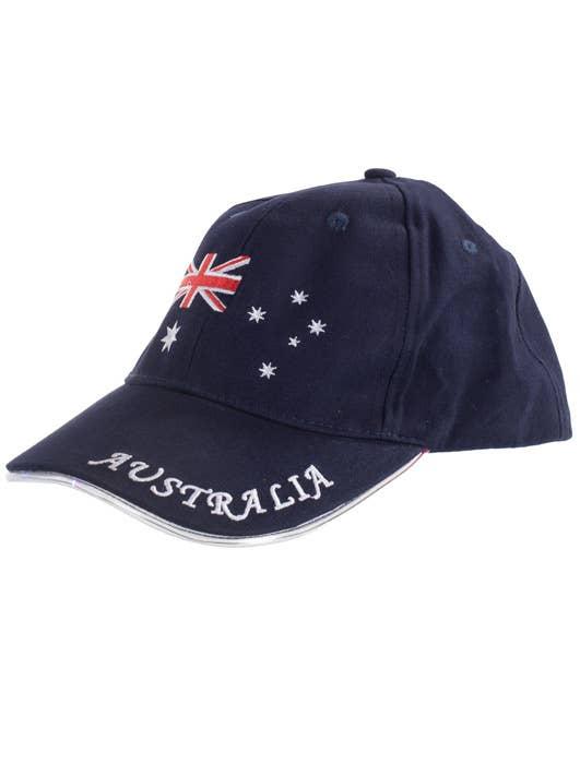 fibre optic australia day baseball cap australian