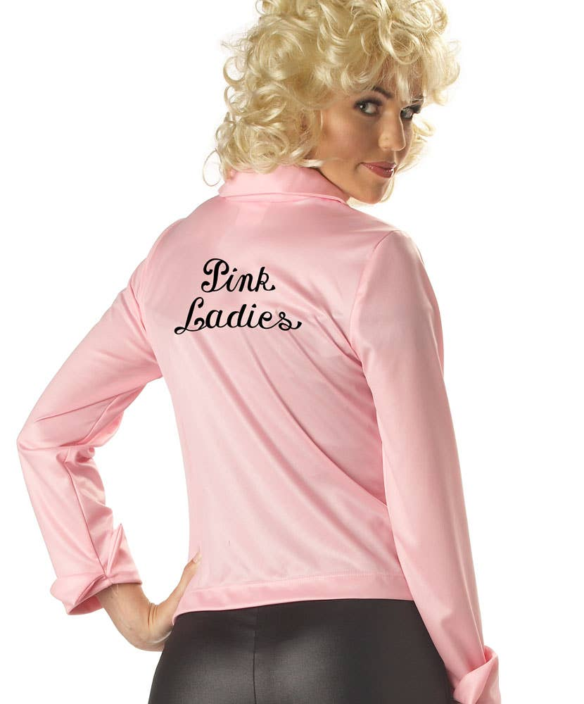 womens pink ladies frenchie grease costume