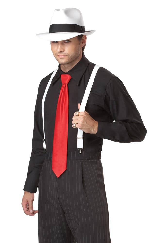 Mob boss men s gangster costume