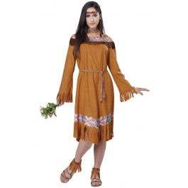 e6b1a1c9de4 Classic Indian Maiden Women's Fancy Dress Costume