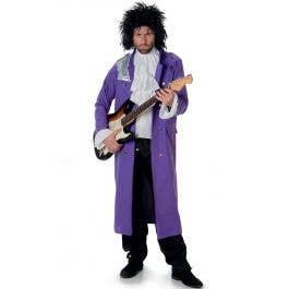 ef144891278af9 Prince Pop Star Men's Costume | Purple Rain Fancy Dress Costume