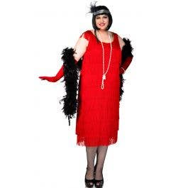 54457db7e47 1920 s Plus Size Flapper Costume