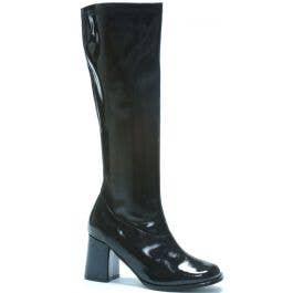 5ba6952383a Women's Go Go Boots | 60's And 70's Black Platform Costume Heels