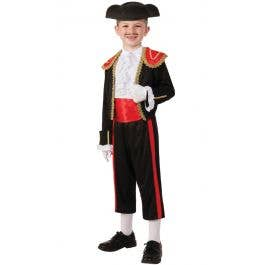 Spanish Bullfighter Boys Costume  825d1e444dd4