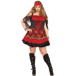 Mystic Vixen Gypsy Women\'s Costume - Plus Size