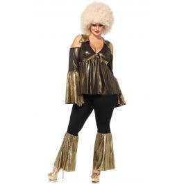 c3279a759d6 1970 s Women s Plus Size Disco Costume
