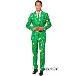 556c0e1d Green St Patrick's Day Icons Suit Men's Costume | St Patrick's Day Icons  Suit