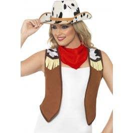 f41cb8dc70fb9 Women s Western Cowgirl Costume Kit