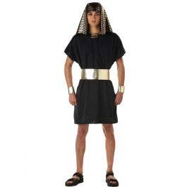 Egyptian Tutankhamun Pharaoh Children Fancy Book Week Dress Parties Wear Costume