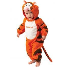 Adult Disney Tigger Costume Winnie the Pooh Animal 70s 80s Fancy Dress Outfit