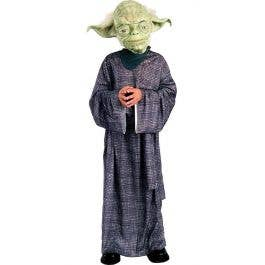 LICENSED DELUXE YODA STAR WARS CHILD BOYS DRESS UP HALLOWEEN BOOK WEEK COSTUME