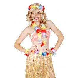 70/'S FANCY DRESS ACCESSORIES # HAWAIIAN HULA SKIRT 46CM