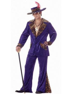 Playa Pimp Men's Purple Mac Daddy Costume