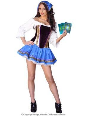 Fortune Teller Gypsy Women's Costume