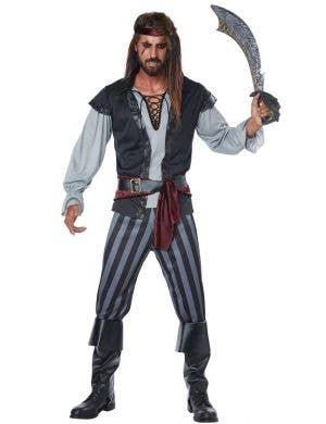 California Costumes Men's Scallywag Pirate Costume
