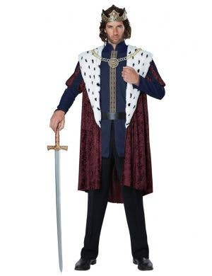 Men's Storybook King Royal Fancy Dress Costume