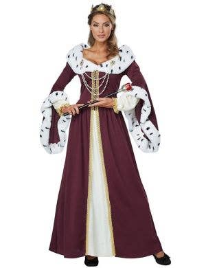 Women's Storybook Queen Royal Fancy Dress Costume