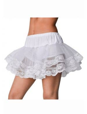 Cute Petticoat Tutu, White