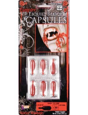 Special Effects Halloween Liquid Blood Capsules