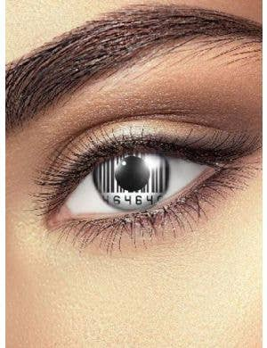 Barcode Eye 90 Day Wear Patterned Contact Lenses