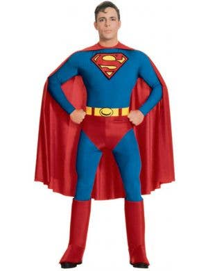 Superman Adult Fancy Dress Costume