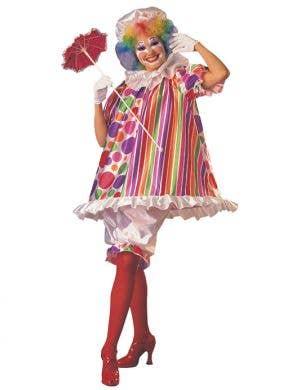 Betty Bright Women's Clown Costume