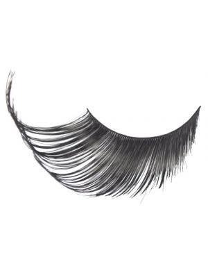 Women's Jumbo Black Costume Eyelashes Main Image