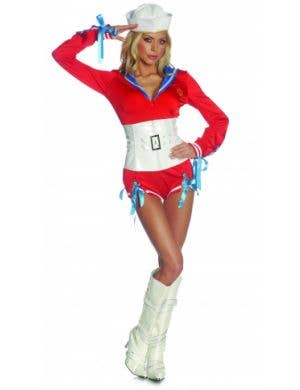 Women's Sexy Sea Legs Sailor Costume