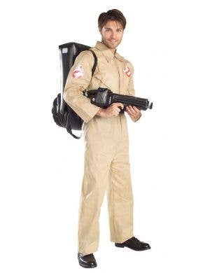 Men's Ghostbusters Halloween Costume with Proton Pack Main Image