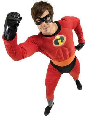 Muscle Chest Men's Mr Incredible Costume