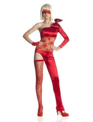 Fiery Femme Fatale Fancy Dress Costume