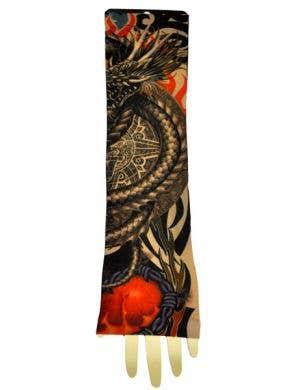 Tribal Serpent Tattoo Sleeve Costume Accessory