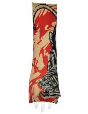 Crouching Tiger Tattoo Sleeve Costume Accessory