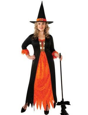 Gothic Witch Plus Size Women's Halloween Costume