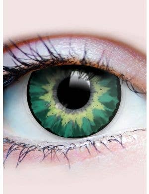 Delightful Turquoise Contact Lenses 3 Month Wear