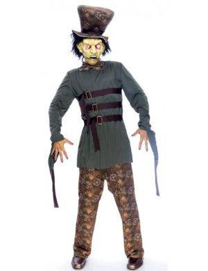 Wicked Wonderland Halloween Mad Hatter Costume