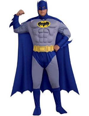 Brave and the Bold Batman Muscle Costume - Plus Size