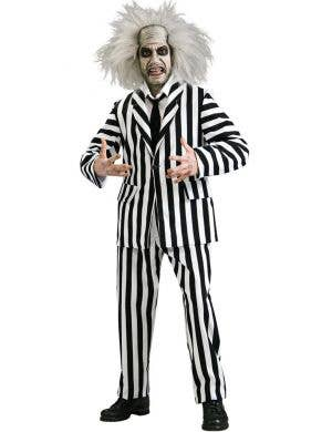 Beetlejuice Deluxe Men's Halloween Costume