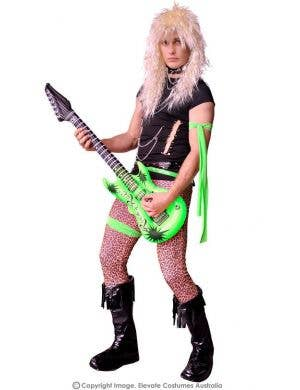1980's Glam Rocker Men's Fancy Dress Costume
