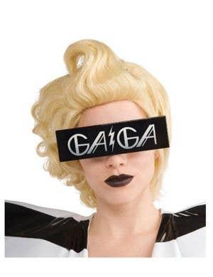 Novelty Lady Gaga Lunettes Costume Accessory