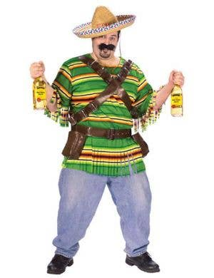 Tequila Pop N' Dude Mexican Costume - Plus Size
