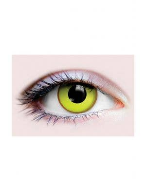 Yellow Nightcrawler 90 Day Wear Halloween Contact Lenses
