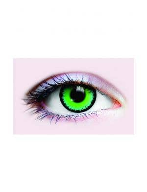 Werewolf Green 90 Day Wear Halloween Contact Lenses