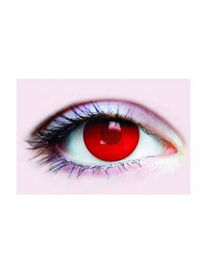 Red XRay Halloween Contact Lenses 3 Month Wear