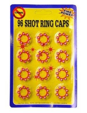 Cap Gun - Shot Caps