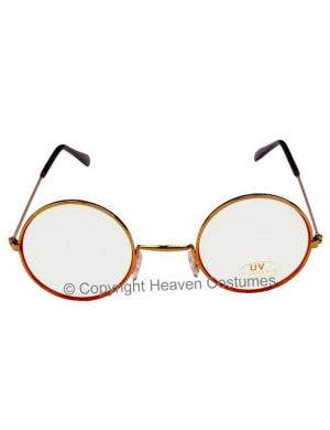 Clear Lens Santa Glasses Costume Accessory